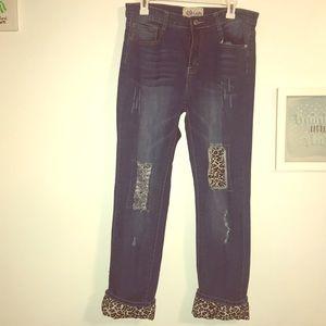 L & B ankle length jeans